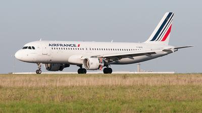 F-GKXC - Airbus A320-214 - Air France