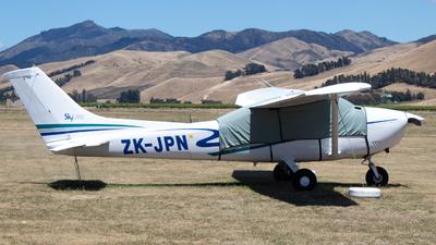 ZK-JPN - Cessna 182R Skylane II - Rotor Flight