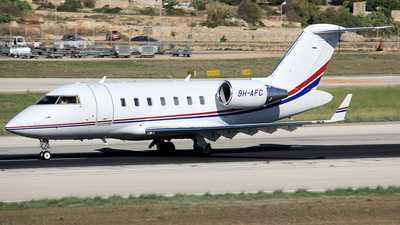9H-AFC - Bombardier CL-600-2B16 Challenger 605 - Europe Executive Jet Services