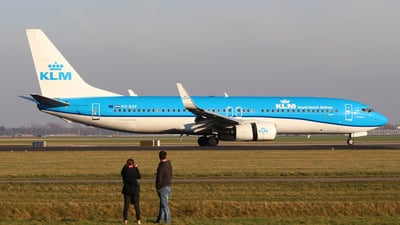 PH-BXF - Boeing 737-8K2 - KLM Royal Dutch Airlines