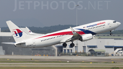 9M-MXO - Boeing 737-8H6 - Malaysia Airlines