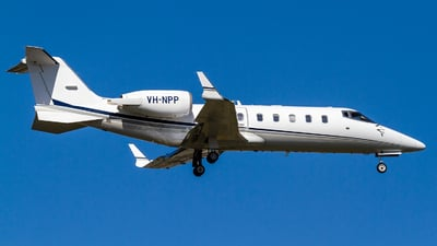 A picture of VHNPP - Learjet 60 - [60158] - © Mark Taylor