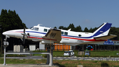 JA8801 - Beech 99 Airliner - Japan - Electronic Navigation Research Institute (ENRI)