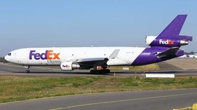 A picture of N523FE - McDonnell Douglas MD11F - FedEx - © André Klöckner