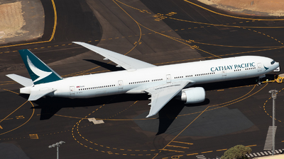 A picture of BKPX - Boeing 777367(ER) - Cathay Pacific - © Mitch Coad