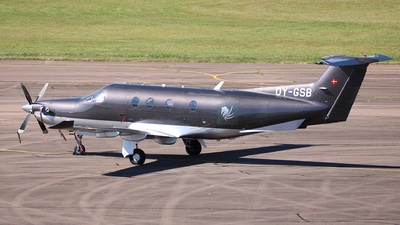 OY-GSB - Pilatus PC-12/47 - Copenhagen Air Taxi (CAT)