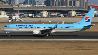 A picture of HL8248 - Boeing 7379B5(ER) - Korean Air - © SEN BAI