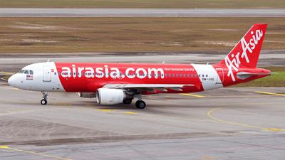 9M-AQE - Airbus A320-216 - AirAsia