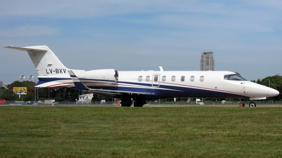 LV-BXV - Bombardier Learjet 45 - Private