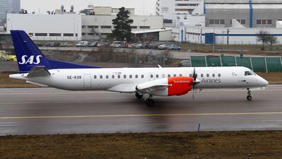SE-KXK - Saab 2000 - Scandinavian Airlines (Braathens Regional)