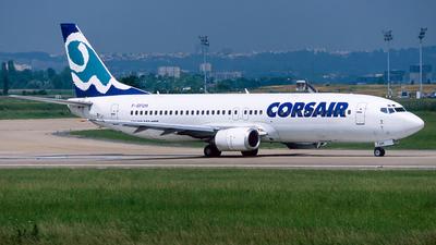 F-GFUH - Boeing 737-4B3 - Corsair