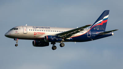 A picture of RA89062 - Sukhoi Superjet 10095B - Aeroflot - © Aleksandr Alekhichev