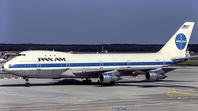N755PA - Boeing 747-121 - Pan Am