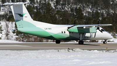 LN-WIA - Bombardier Dash 8-103 - Widerøe
