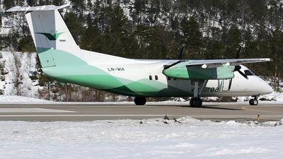 A picture of LNWIA - De Havilland Canada Dash 8100 - Wideroe - © Stig Rokkones