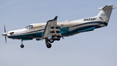 A picture of N455BC - Pilatus PC12/45 - Boutique Air - © Ricky Teteris