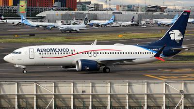 XA-MAO - Boeing 737-8 MAX - Aeroméxico