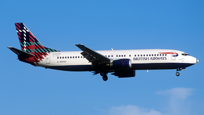 G-BVNO - Boeing 737-4S3 - British Airways
