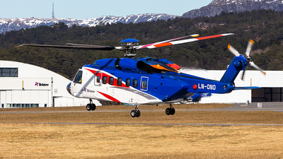 LN-ONO - Sikorsky S-92 Helibus - Bristow Helicopters