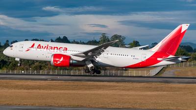N783AV - Boeing 787-8 Dreamliner - Avianca
