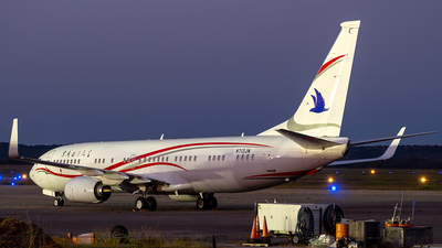 N713JM - Boeing 737-8LZ(BBJ2) - Beijing City International Jet