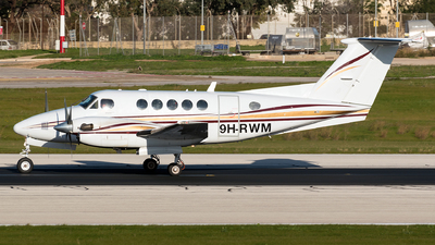 9H-RWM - Beechcraft B200GT Super King Air - Private