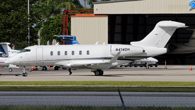 N414DH - Bombardier BD-100-1A10 Challenger 350 - Private