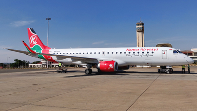 5Y-FFK - Embraer 190-100IGW - Kenya Airways