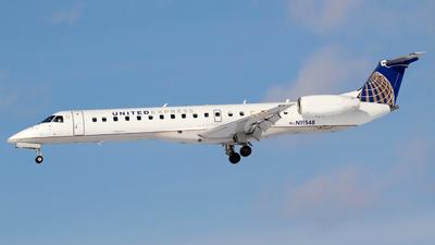A picture of N11548 - Embraer ERJ145LR - [145565] - © Guy Langlois