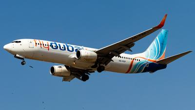 A picture of A6FEF - Boeing 7378KN - FlyDubai - © Faraz Ali