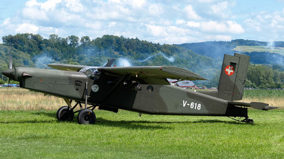 V-618 - Pilatus PC-6/B2-H2 Turbo Porter - Switzerland - Air Force