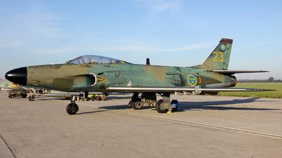 A picture of SERMD - Saab J 32D Lansen - [32542] - © Robert Kolek - lojza