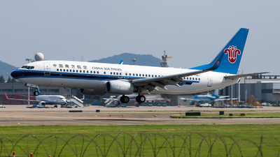 A picture of B7997 - Boeing 73781B - China Southern Airlines - © Lazy Clutch