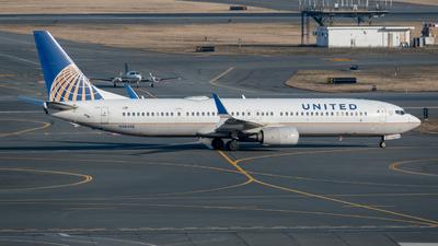 A picture of N38458 - Boeing 737924(ER) - United Airlines - © Aditya Saligrama