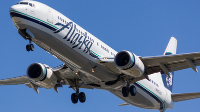 A picture of N403AS - Boeing 737990(ER) - Alaska Airlines - © Jay Cassady
