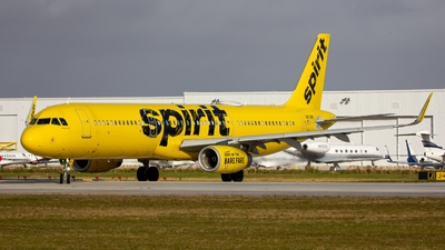 A picture of N672NK - Airbus A321231 - Spirit Airlines - © ColumbusPlaneSpotter