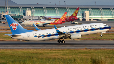 A picture of B1363 - Boeing 73781B - China Southern Airlines - © Alva