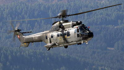 T-317 - Aérospatiale AS 332M1 Super Puma - Switzerland - Air Force