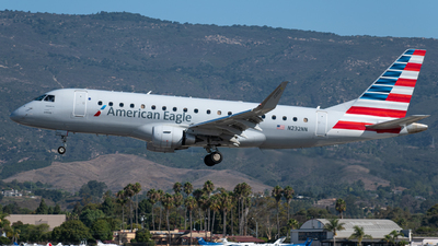A picture of N232NN - Embraer E175LR - American Airlines - © Beck Ramsey