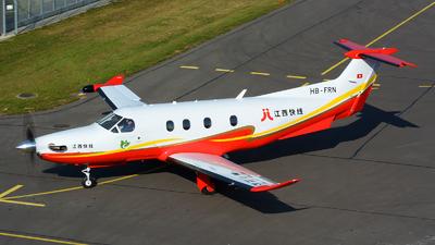 HB-FRN - Pilatus PC-12/47E - JiangXi Express