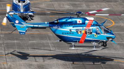 JA6816 - MBB-Kawasaki BK117C-1 - Japan - Police