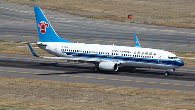 A picture of B7969 - Boeing 73781B - China Southern Airlines - © BillyLIAO