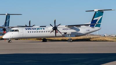 A picture of CGWEP - De Havilland Canada Dash 8400 - WestJet - © Aidan Osborne
