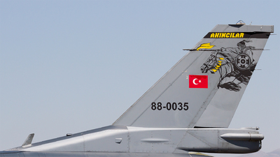 88-0035 - General Dynamics F-16C Fighting Falcon - Turkey - Air Force