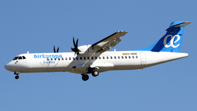 EC-MSN - ATR 72-212A(500) - Air Europa Express