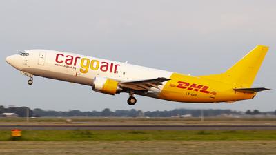 LZ-CGS - Boeing 737-4Q8(SF) - Cargoair