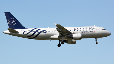 F-GFKY - Airbus A320-211 - Air France