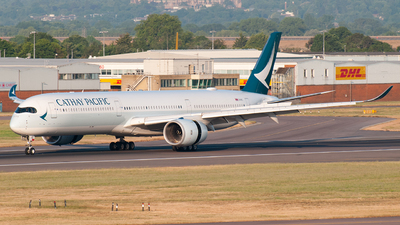 A picture of BLXG - Airbus A3501041 - Cathay Pacific - © Dom Smith (Aviationlife14)