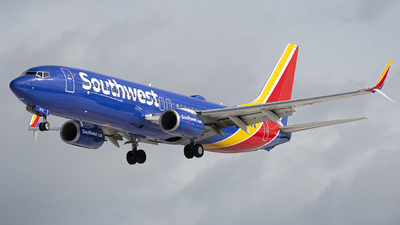 A picture of N8539V - Boeing 7378H4 - Southwest Airlines - © Andrew Mauro
