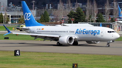A picture of ECNBV - Boeing 737 MAX 8 - Air Europa - © Huy Do